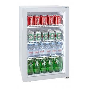 SILVA Getränkekühlschrank G-KS 1595 mit Glastür, weiß