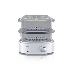 Braun FS 5100 Tisch 850W Weiß Dampfgarer