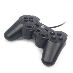 GEMBIRD Gamepad Dual USB Vibration 10 Tasten 2Sticks (JPD-UDV-01)