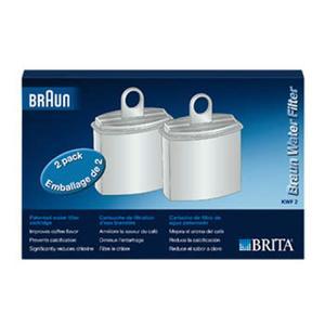 Braun Wasserfilterkartusche Pure Aqua KWF 2 2Stk weiß