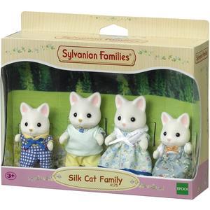 Epoch Sylvanian Families Seidenkatzen: Familie Seidenthal