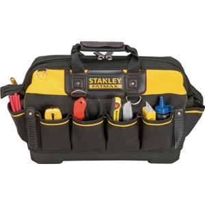 STANLEY Werkzeugtasche FatMax B.490xT.260xH.280mm wasserdicht Boden Kunsst. erg. Gummihandgriff