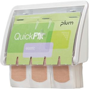 PLUM Pflasterspender QuickFix® UNO B130xH85xT35ca. mm transparent