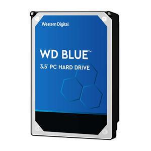 WESTERN DIGITAL WD Blue 6TB SATA 6Gb/s HDD internal 8,9cm 3,5Zoll serial ATA 256MB cache 5400 RPM Ro