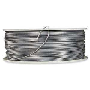 Verbatim 3D Printer Filament PLA 1,75 mm 1 kg silver/metal grey