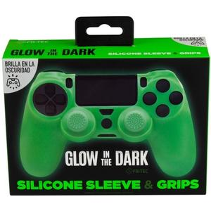 PS4 Silicone Skin + Grips Glow in the Dark Englisch