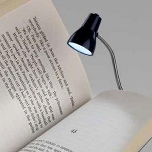 Bookchair Little Lamp Leselampe blau