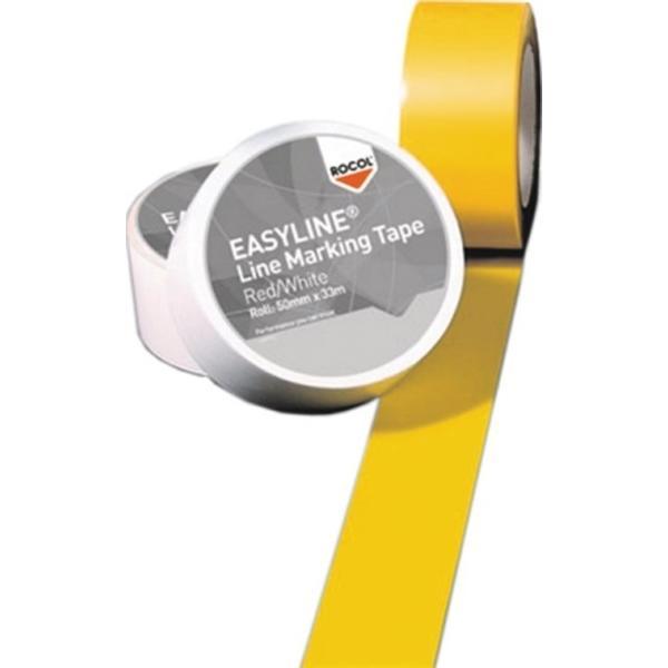 ROCOL Bodenmarkierungsband Easy Tape PVC gelb Länge 33 m Breite 50 mm