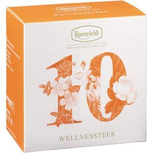 Kleine Tee Akademie Wellness-Tees 10 Teeproben