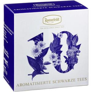 Kleine Tee-Akademie Aromatisierte Schwarze Tees 10 Teeproben