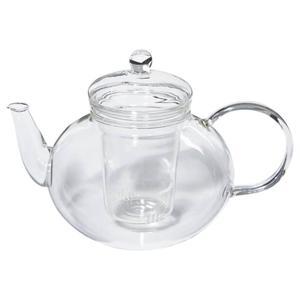 Glas-Teekanne Miko, 1,2lt. mit Glassieb