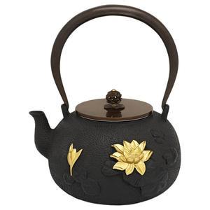 Teekanne aus Kupfergusseisen Lotus 1,4lt.