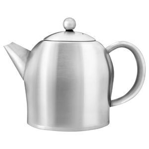 Bredemeijer Teekanne Minuet® Santhee Edelstahl matt gebürstet 1lt. doppelwandig