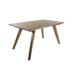 Esstisch Avignon aus Holz - Moderner Esszimmertisch mit Massivholz Beinen