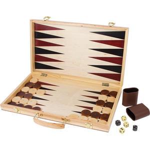 Schach und Backgammon Koffer