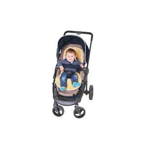 Lammfell-Kinderwageneinlage