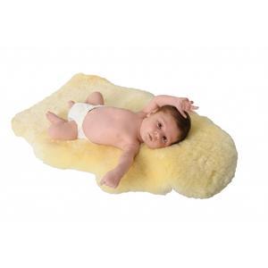 Baby-Lammfell-geschoren 80 - 90 cm