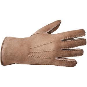 Lammfell-Fingerhandschuhe-PREMIUM-taupe