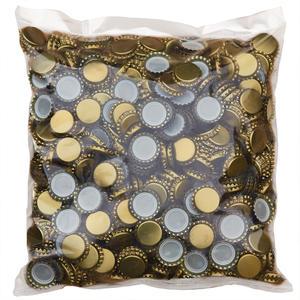 Kronenkorken 26mm Gold - 1000 Stück