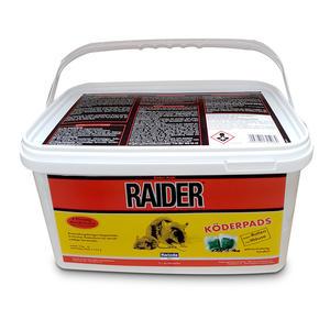 Raider Rattenköderpads 3kg - auslegefertig