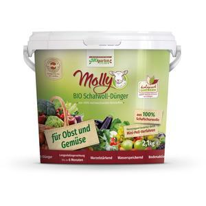 Molly BIO Schafwolldünger für Obst und Gemüse 2,1kg