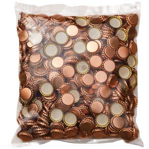 Kronenkorken 26mm Bronze - 1000 Stück
