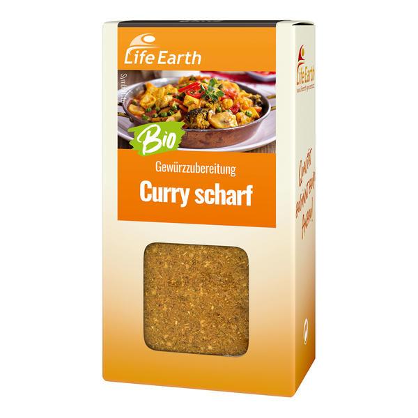 Curry scharf - Bio Gewürzzubereitung
