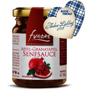 Apfel-Granatapfel Senfsauce