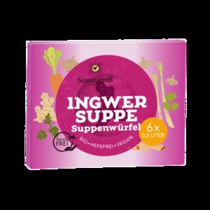 Ingwer Suppenwürfel bio, 60 g