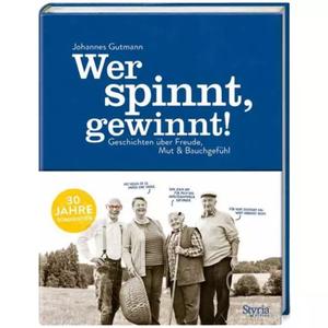 """Jubiläumsbuch """"Wer spinnt gewinnt"""""""