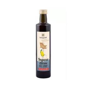 Ingwer-Zitronen Sirup bio, 500 ml