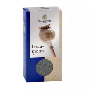 Grau-Mohn bio, 200 g Packung