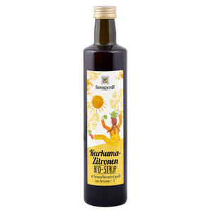 Kurkuma-Zitronen Sirup bio 500 ml