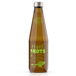 HANF Shots bio, 330 ml Flasche