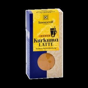 Kurkuma Latte Ingwer bio, 60 g Packung