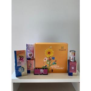 Für die liebste Mama Geschenkkarton, Größe 29,5x27,5x8,5