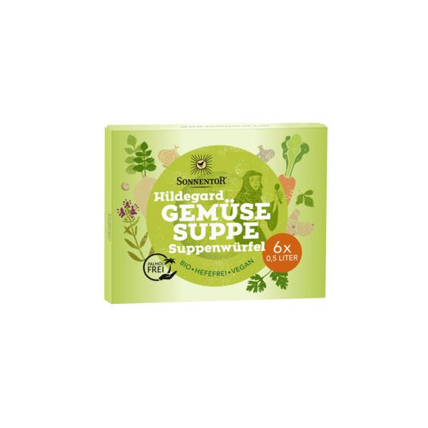 Gemüse Suppenwürfel Hildegard bio, 60 g