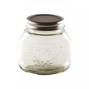 Keimglas mit Siebdeckel, für Sprossenaufzucht, 750 ml