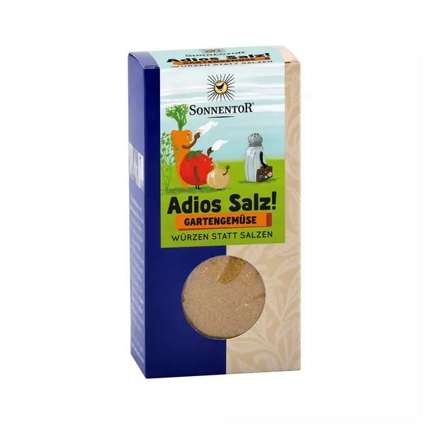 Adios Salz! Gemüsemischung Gartengemüse, Bio-Gemüse-Kräutermischung, 60 g Packung