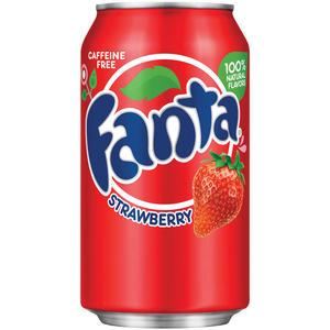 Fanta Strawberry mit Erdbeer Geschmack 1 x 0,355 Liter