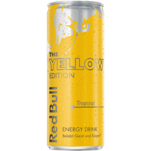 Red Bull Yellow Edition 0,25 Liter