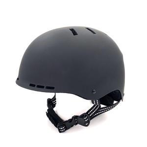 S4U SCOOTER HELM Farbe Schwarz - Größe M, Fahrradhelm, Skaterhelm