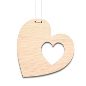 Auto Accessoire Herz im Herz – für Verliebte