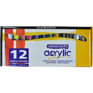 Daler Rowney Graduate Acrylset 12x22ml