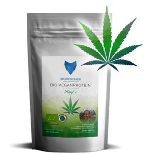 Bio-Vegan 3K Protein Hanf+ 500 g