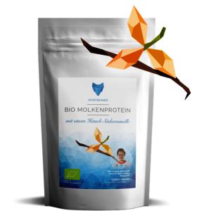 Bio Molkenprotein mit Südseevanille 500 g