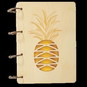 Notizbuch - Ananas
