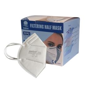 30x FFP2 NR Schutzmasken - CE 2163, einzelverpackt in Karton