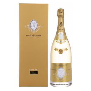 Louis Roederer Champagne CRISTAL 2009 12% Vol. 1,5l in Holzkiste