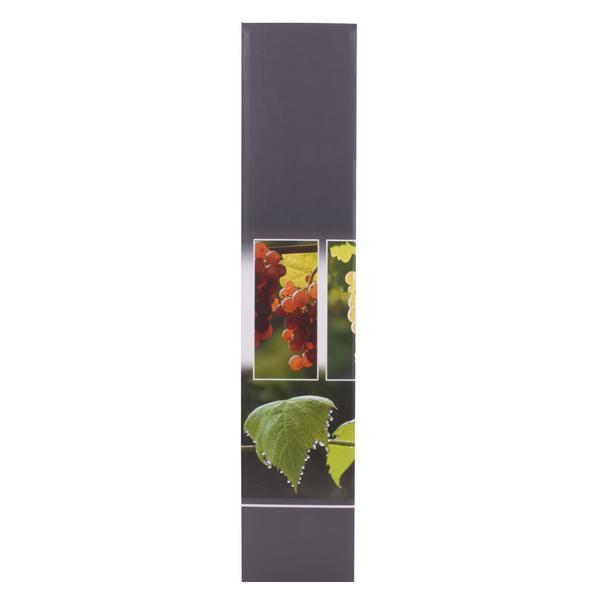Faltschachtel 1er Trilogie Weintraube grau 36,3 cm